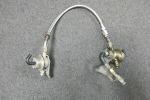 Porsche 993 Fuel Pressure Regulators / Dampers + Hose - 0280161021, 0280160215