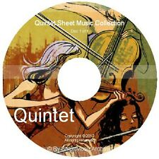 Massive Professional Quintet Sheet Music Collection Archive Library on DVD