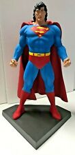"Long Haired SUPERMAN 14 1/2"" STATUE PROFESSIONAL BUILD & PAINT Signed by Artist"