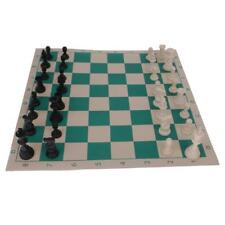 Chess Game Roll Up Mat Chessboard Set Classic Chess Pieces Outdoor Game - L
