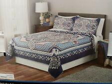 NEW King Size Soraya Quilt Set- 1 King Quilt & 2 King Shams