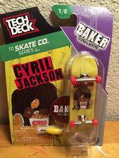 2016 Tech Deck BAKER Skateboards Series 4 CYRIL JACKSON, New