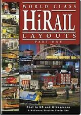 World Class Hi-Rail Layouts  O Gauge DVD NJ Hi-Railers