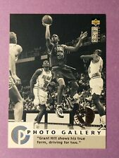 1995-96 Collector's Choice Grant Hill Detroit Pistons Basketball Card #398