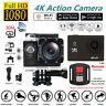 "4K SJ8000R WIFI Sport Action Camera 2"" DV 1080P HD Cam DVR Waterproof+Remote"
