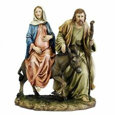 "Josephs Studio 10"" La Posada ""The Lodging"" Figure-Joseph with Mary Riding on Don"