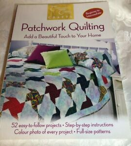 Patchwork Quilting by Hinkler Books PTY Ltd (Paperback, 2009) Suits beginner +
