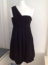miss selfridge One Cold Shoulder Dress 10 New  Sun  Fit Flare Stunning Holiday