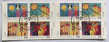Carnet timbres suisses YT CH C1659 Dessins d'enfants ob 1er jour 1659 à 1662