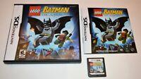 LEGO BATMAN: THE VIDEOGAME NINTENDO DS GAME 3DS 2DS LITE DSI CIB COMPLETE MANUAL