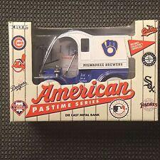 1993 ERTL American Pastime Series Milwaukee Brewers Die Cast Bank NIB