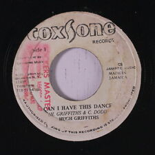 HUGH GRIFFITHS: Can I Have This Dance / Version 45 (Jamaica, stamp ol, light st
