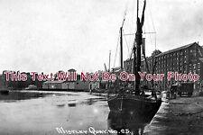 ES 77 - Sailing Barge At Mistley Quay, Essex - 6x4 Photo