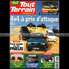 TOUT TERRAIN N°94 TOYOTA LAND CRUISER HDJ 80 RAV4 GX VX NISSAN TERRANO TD 1997