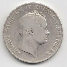 Münze 2 Taler 1842 A Friedrich Wilhelm IV. König von Preussen Silber Doppeltaler