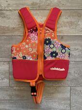 Girls Swim School UPF50 Trainer Training Vest Safety Strap Small 20-33 Lbs EUC!