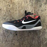 Nike Zoom KOBE 9 IX EM BLACK WHITE LASER CRIMSON SHOES Sz US 5.5Y 7W 653593-001