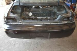 1995-1998 NISSAN 240SX S14 BLACK REAR BUMPER COVER ONLY