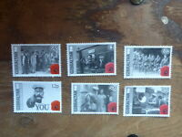 GIBRALTAR 2014 CENTENARY OF WWI SET 6 MINT STAMPS MNH