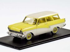 FORD TAUNUS P2 17M 1957 BREAK YELLOW WHITE ROOF NEO 44551 1/43 SW RESIN