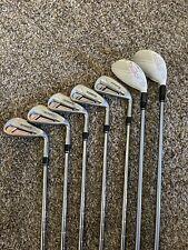 New listing Adams Golf Super S Iron Set w/Hybrids Stiff Flex