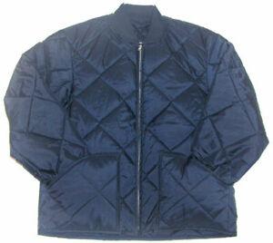 Work Jacket - Quilt Lined - Hip Length - Dark Navy #1000 - U.S.A. - 2X-TALL