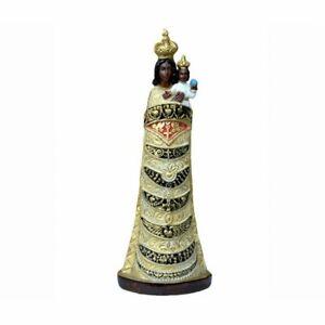 Statua della Madonna di Loreto in resina piena 30 cm