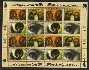 A 99 ) UN 2007 Geneva Endangered Species: Primates / Monkeys