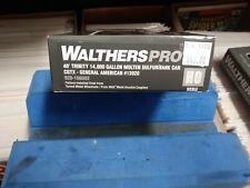 Walthers Proto 40 Trinity 14 000 Gallon Molten Sulfur Tank Car