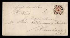DR WHO 1877 SWEDEN STOCKHOLM TO GERMANY 183659