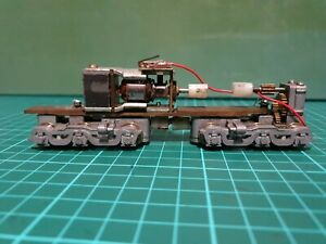 Diesel Chassis Witg Wheel Sets And Motor. Untested. Ho Scale