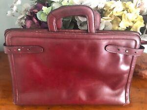 Retro Leather Document Case - Harrods