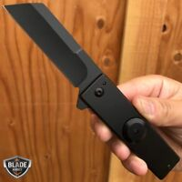 "7"" Military TANTO Assisted RAZOR Tactical Pocket CLEAVER Folding OPEN Knife"