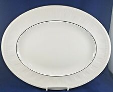 Wedgwood COLOSSEUM PLATINUM  Oval Serving Platter 14""