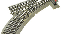 Lionel FasTrack Electric O Gauge, O36 Manual Switch, Left Hand