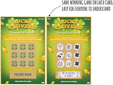 Pregnancy Announcement Fake Lottery Scratch Off Tickets, Surprise Reveal! 6 pack