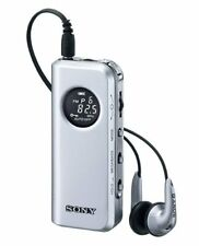 New SONY SRF-M98 Synthesized Tuning Small Portable Radio Tuner