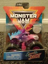 SPIN MASTER 2019 MONSTER JAM ---- Sparkle Smash ---- Monster Truck **Brand New**