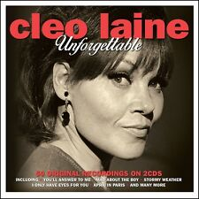 2 CD BOX CLEO LAINE UNFORGETTABLE MAD ABOUT THE BOY SHAKESPEARE MOOD INDIGO etc