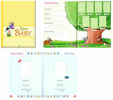 Babyalbum Photo Album Chlildren's Album Lineage Birth Our Baby Album Child