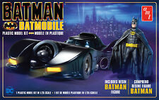 1:25 AMT BATMAN *BATMOBILE* w/FIGURE Plastic Model Kit *NEW SEALED*