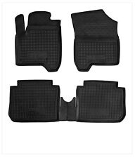 CITROEN C3 PICASSO 2009-2015 Rubber Car Floor Mats All Weather Alfombrillas Goma