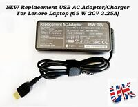 For Lenovo Yoga 500 Laptop Charger AC Adapter Power Supply 65W, 20V, 3.25A UK