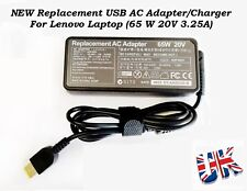 For Lenovo Yoga 500 Laptop Charger AC Adapter Power Supply (65W, 20V, 3.25A)- UK