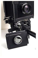 Moveable Adapter For Canon Cameras to Linhof Sinar 4x5