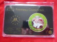 Medal - Football Champions - England 1996 - Winner Germany - Prestige Edition