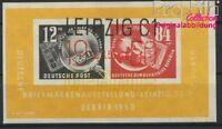 DDR Block7 Ersttagssonderstempel gestempelt 1950 DEBRIA in Leipzig (8844017