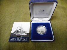 #T112. 2000 Hmas Sydney Ii Proof One Dollar Coin