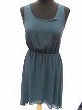 Topshop Round Neck Patternless Midi Dresses for Women