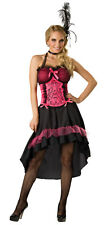 Womens Large Sexy Deluxe Saloon Girl Costume - Burlesque Costumes